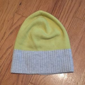 J. Crew Yellow Knit Beanie